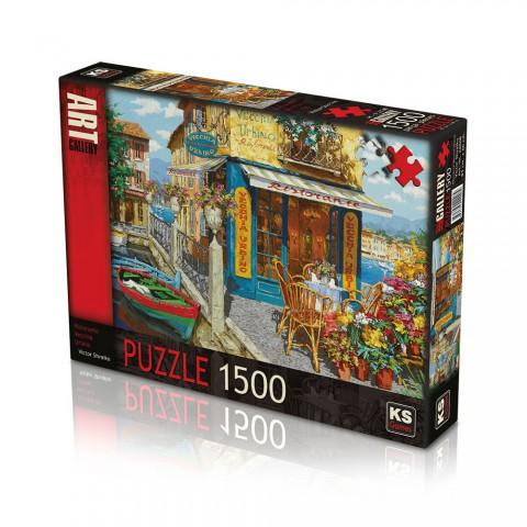 Ks Games 1500 Parça Puzzle Ristorante Vecchia Urbino 22008