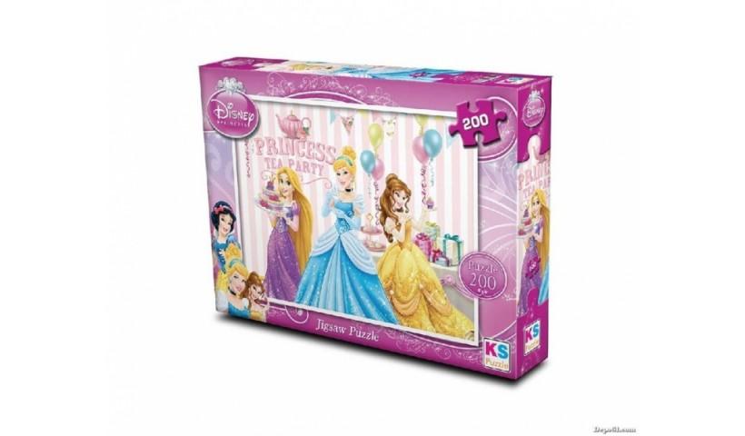 Ks Games 200 Parça Princess Puzzle