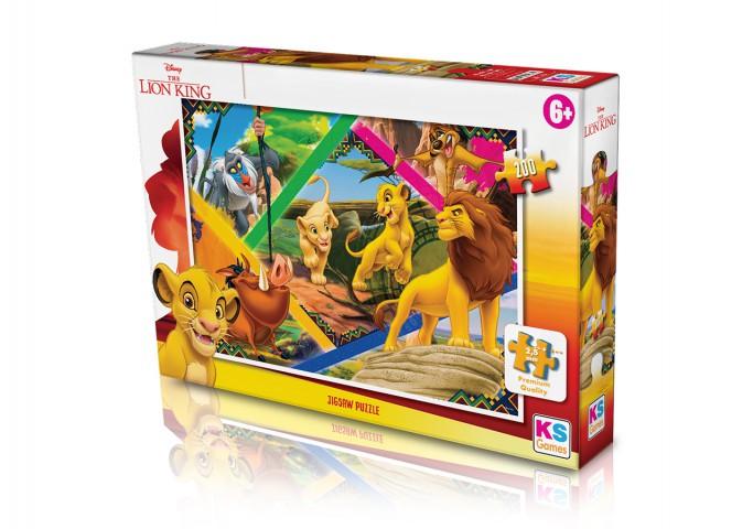 Ks Games 200 parça Lion King Puzzle