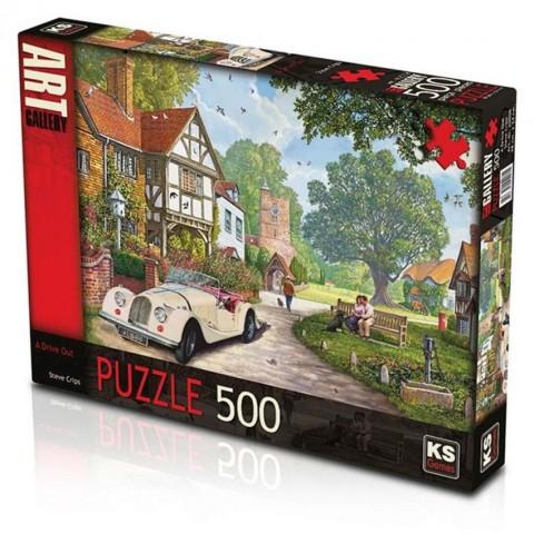 Ks Games 500 Parça Puzzle A Drive Out 20008
