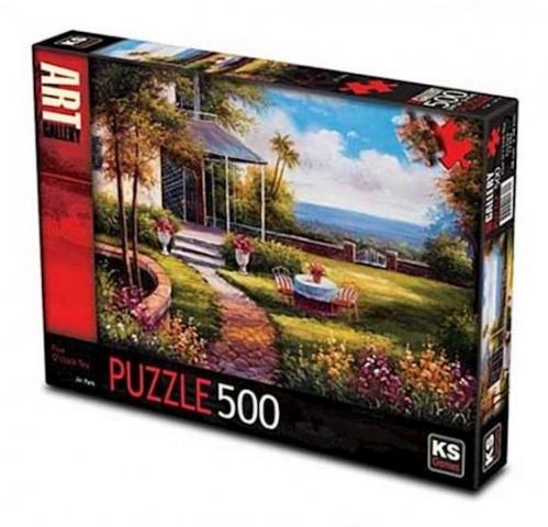 Ks Games 500 Parça Puzzle Five O'Clock Tea 11344
