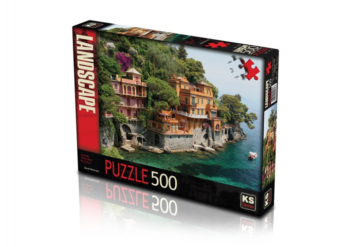 Ks Games 500 Parça Puzzle Seaside Villas Near Portofino 11231