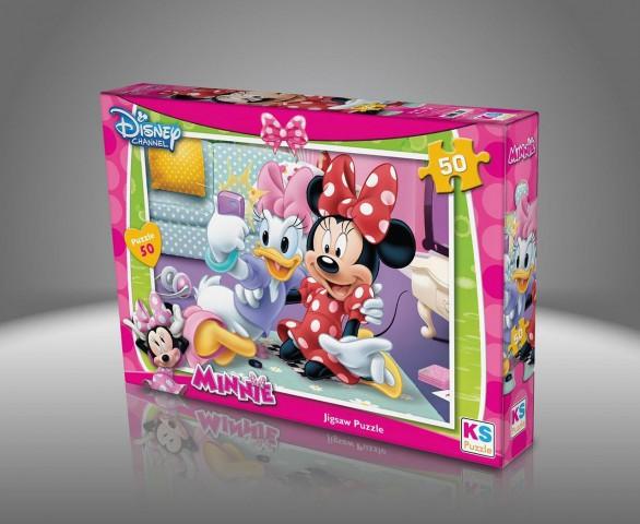 Ks Games Minnie 50 Parça Puzzle