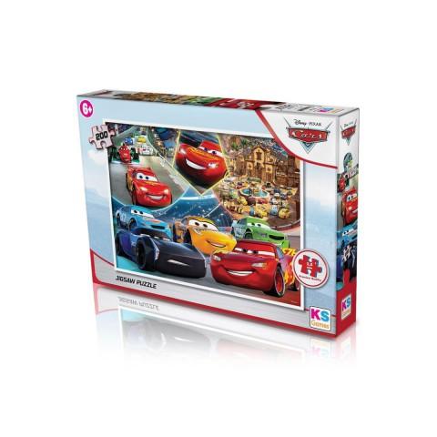 Ks Games-Puzzle 200 Parça Cars