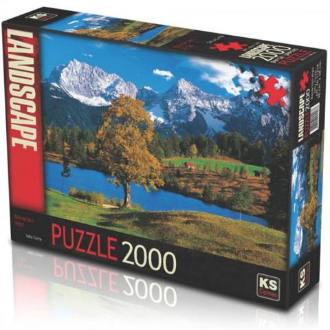 Ks Games Puzzle 2000 Parça Bavarian Alps 11218