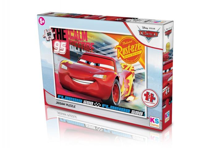Ks Games  Puzzle 50 Parça Cars