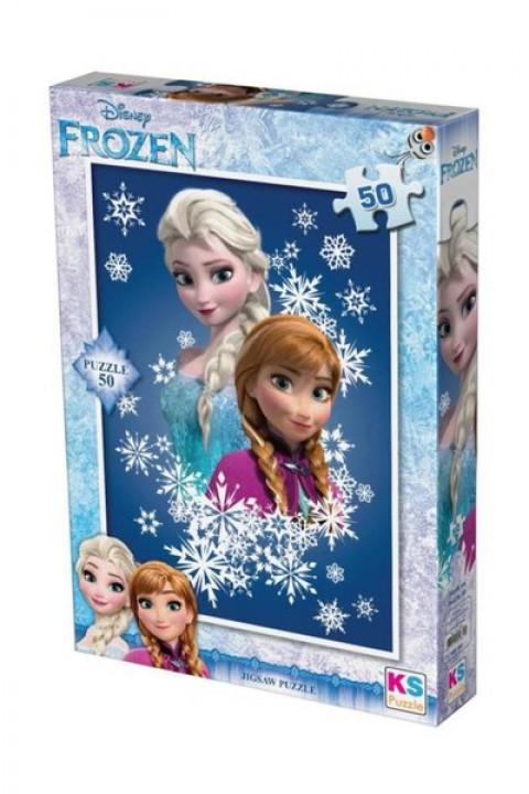 Ks Games Puzzle 50 Parça Frozen