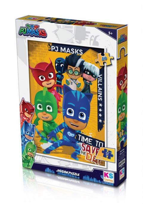Ks Games Puzzle 50 Parça Pj Masks