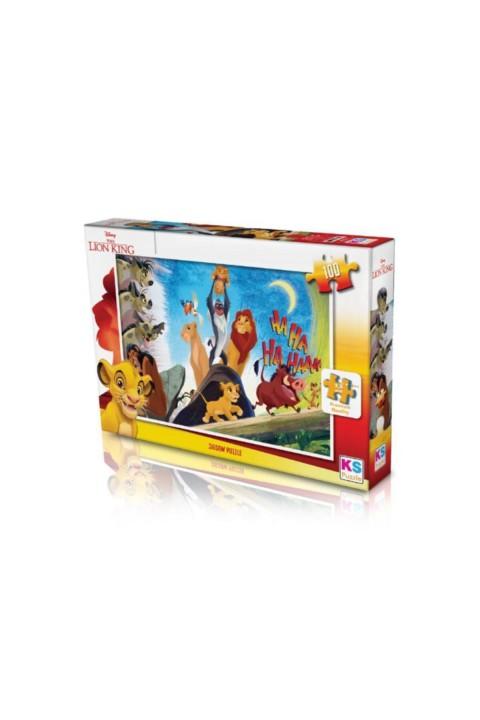 Ks Games The Lion King 100 Parça Puzzle