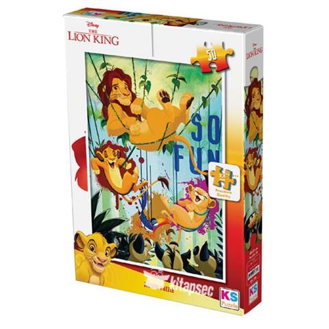 Ks Games The Lion King 50 Parça Puzzle