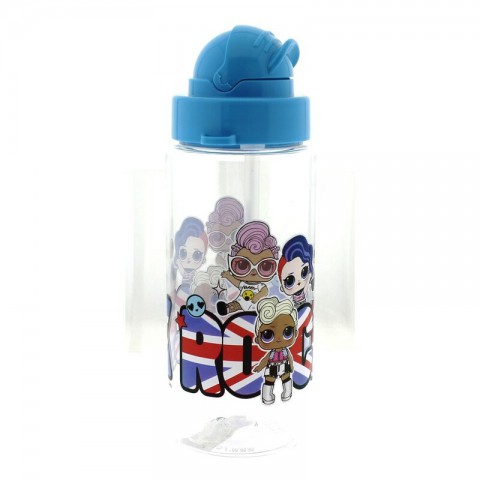 LOL Plastik Matara / Suluk 500 Ml Mavi
