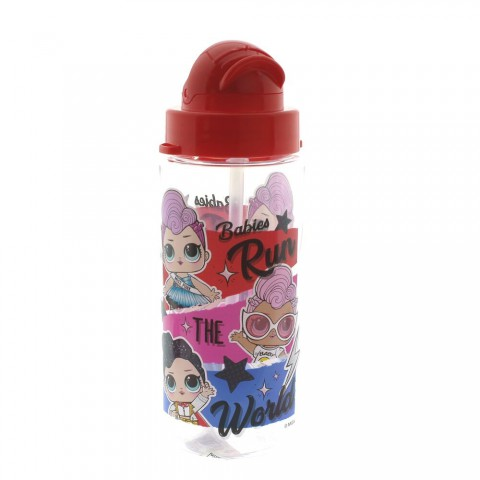 LOL Plastik Matara / Suluk 500 Ml Kırmızı