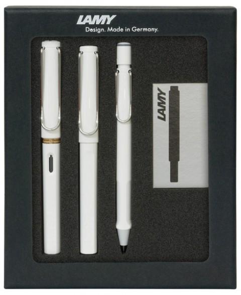 Lamy Safari Beyaz Kalem Seti Tb-3Pb
