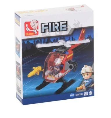 Lego Fire 80 Parça Sluban - 8681241103143