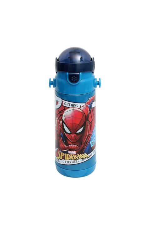 Lisanslı Spiderman Çelik Matara 500 Ml.4402031