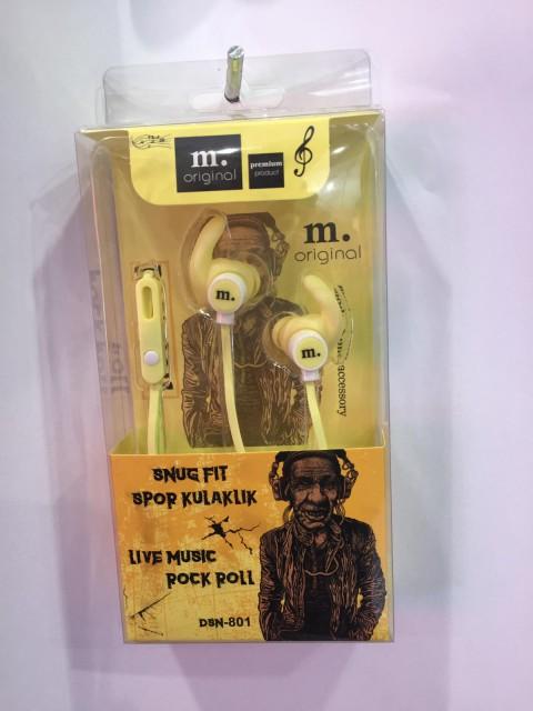 M.Original Snug Fit Kulak içi Kulaklık