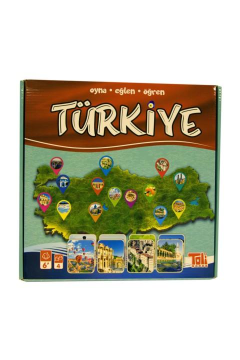 Mankii Oyuncak Toli Bilgin Türkiye Oyunu -genel Kültür Oyunu 02