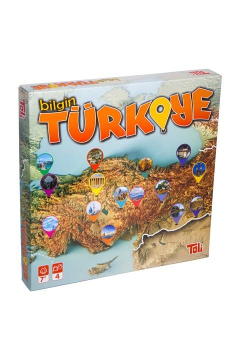 Mankii Oyuncak Toli Bilgin Türkiye Oyunu -genel Kültür Oyunu 01