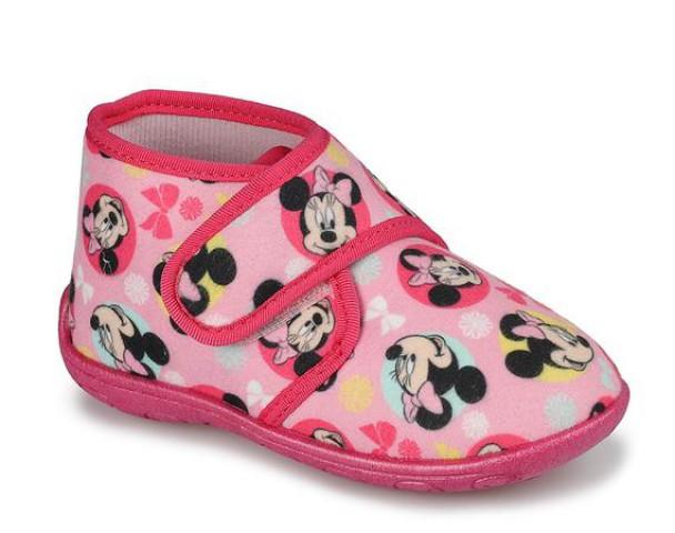 Minnie Mouse Pembe Kız Çocuk Panduf