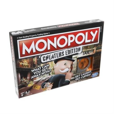 Monopoly Cheaters Edition Kutu Oyunu E1871