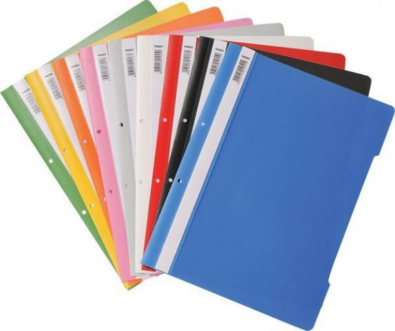 Noki Telli Dosya Plastik A4 50 li Paket Tüm Renkler