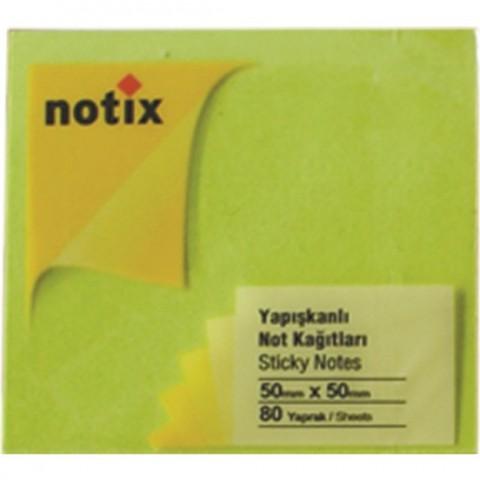 Notix Yapışkanlı Kağıt 80 Yaprak 50x50mm