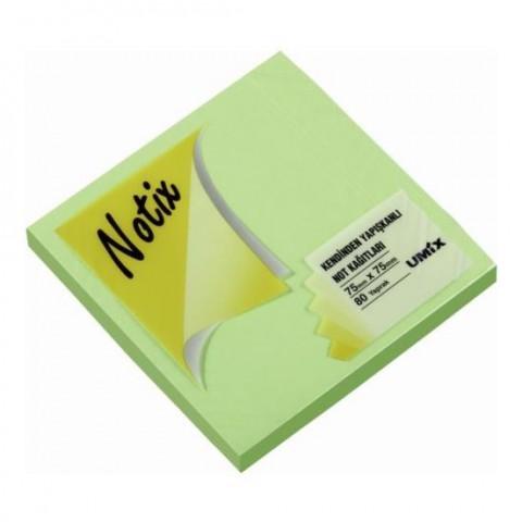 Notix Yapışkanlı Kağıt 80 Yaprak 75x75mm