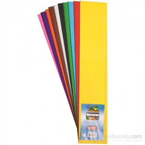 Nova Color 50*200 Grapon Kağıdı 10 Renk Nc-338