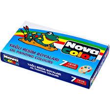 Nova Color 7 Renk Yağlı Boya