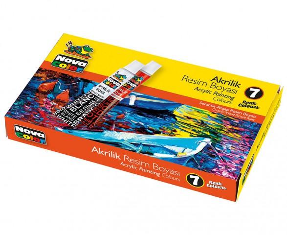 Nova Color Akrilik Boya Takımı Nc-288