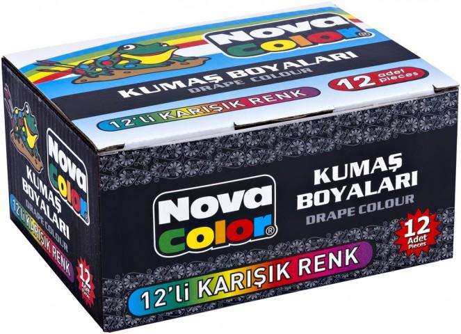 Nova Color Kumaş Boyası 12 Renk Nc-192