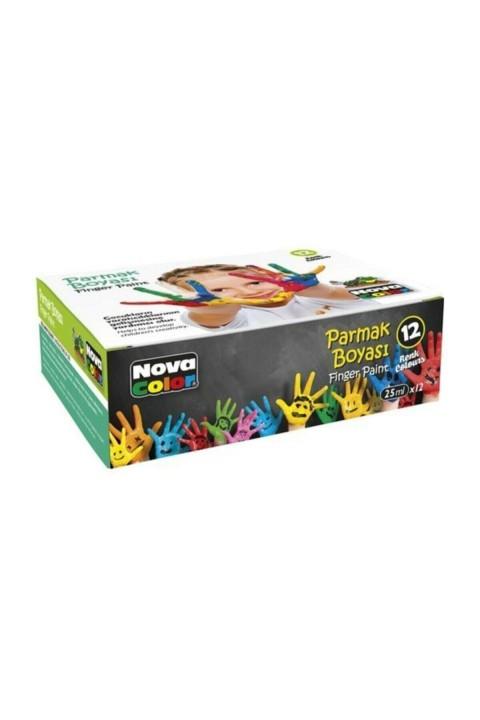 Nova Color Parmak Boyası 12 Renk 25 ml Nc-460