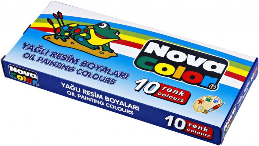 Nova Color Yağlı Boya 10 Renk