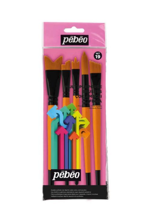 Pebeo 5li Fırça Seti - Set 19