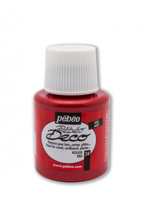 Pebeo Deco 110 Ml Ahşap Boyası 24 Red