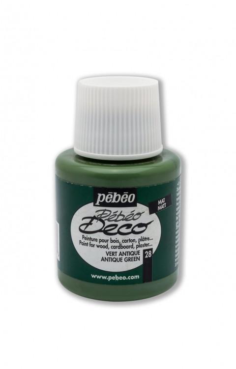 Pebeo Deco 110 Ml Ahşap Boyası 26 Antique Green