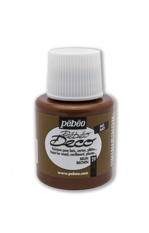 Pebeo Deco 110 Ml Ahşap Boyası 29 Brown