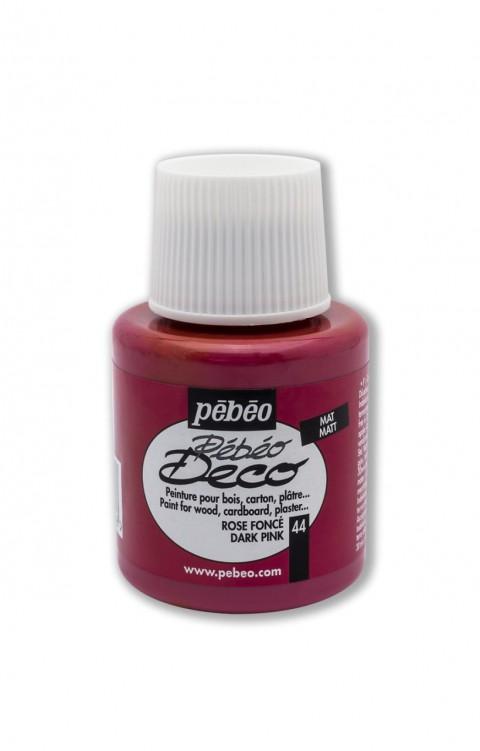 Pebeo Deco 110 Ml Ahşap Boyası 44 Dark Pink