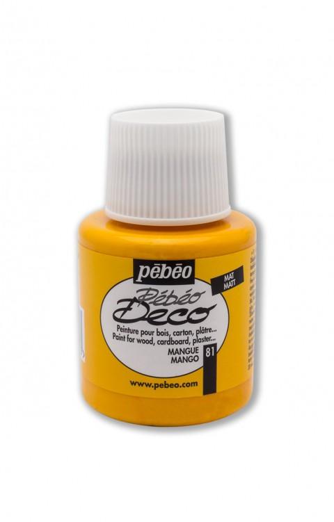 Pebeo Deco 110 Ml Ahşap Boyası 81 Mango