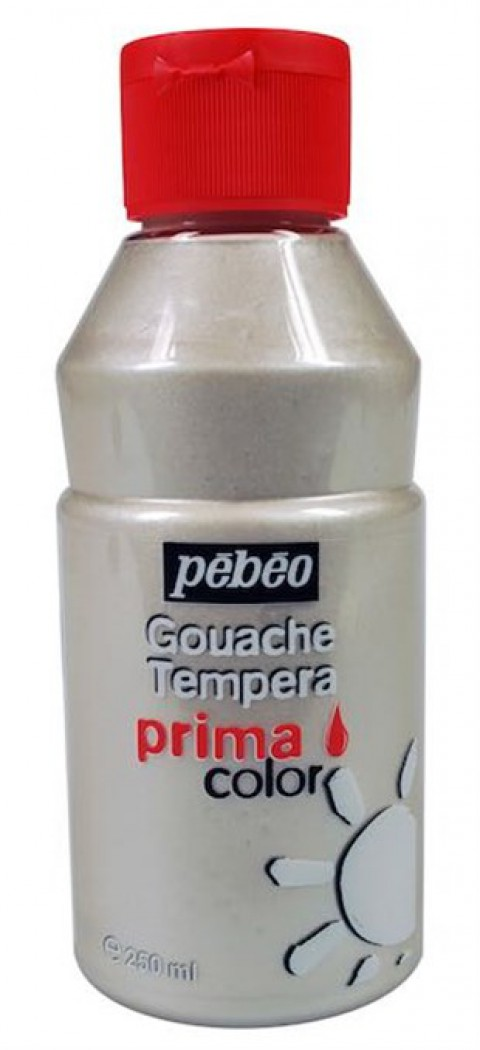 Pebeo Primacolor Guaj Boya 250 Ml İnci Beyaz