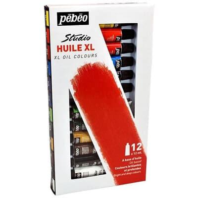 Pebeo Studio Yağlı Boya Set 12 X 12ml
