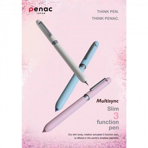 Penac Multi Fonksiyonel Kalem Pastel Mavi