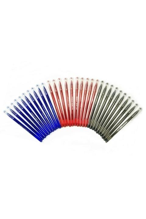 Pensan Büro Tükenmez Kalem 3 Renk 30 Adet Karışık