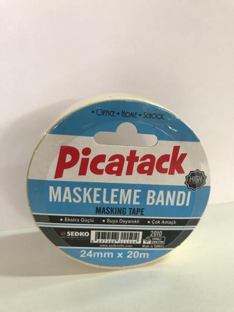 Picador Maskeleme Kağıt Bantı 24 Mm X 20