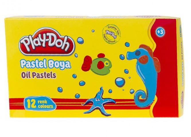 Play Doh 12 Renk Pastel Boya