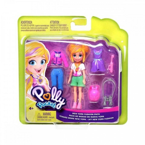 Polly Pocket ve Moda Aksesuarları Seti Polly GDM02