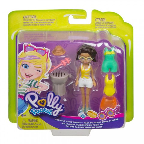 Polly Pocket ve Moda Aksesuarları Seti Shani GMF77