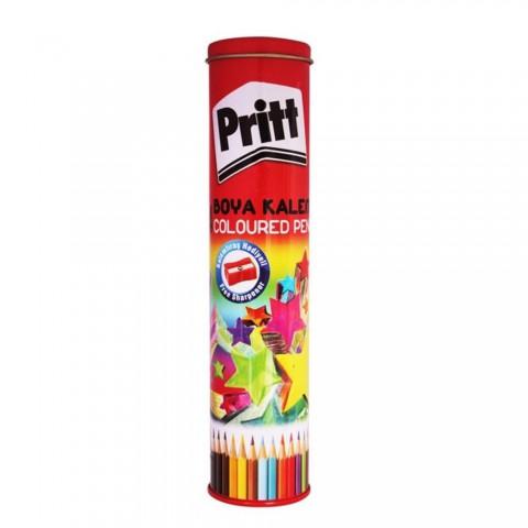 Pritt Boya Kalemi 24 Renk Metal Tüpte