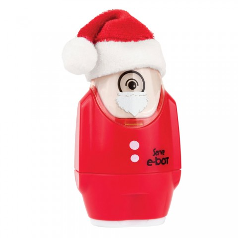 Serve E-bot Silgili Kalemtıraş Noel Baba