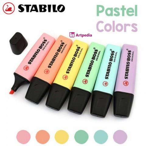 Stabilo Boss Pastel ve Neon Renkler Fosforlu Kalem Renk Çeşitleri